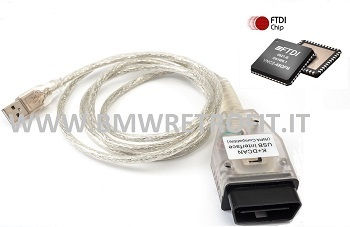 BMW USB OBD DIAGNOSTIC CABLE INTERFACE INPA K+DCAN