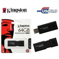 PEN DRIVE 64GB DATA TRAVELER 100 USB3.0