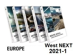 Road Map Europe West NEXT 2021-1  [Download only]