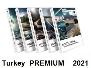Road Map Turkey PREMIUM 2021     [Download only]